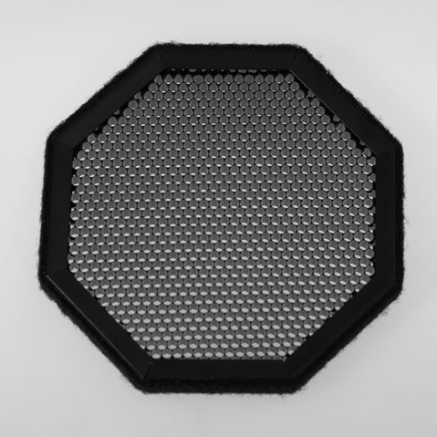 25° Black Poly-carbonate Grid